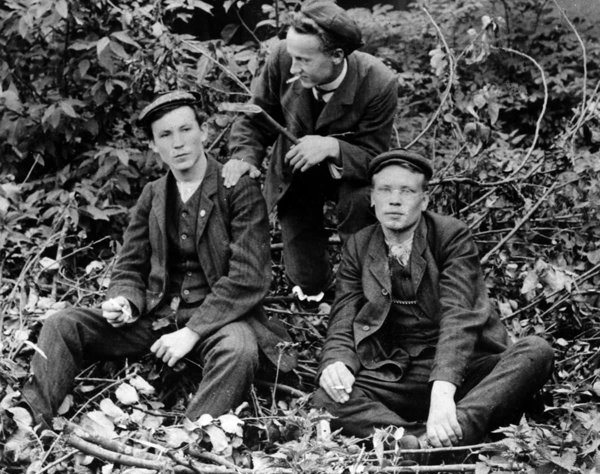 Työväenliikkeen nuoria sosialisteja. Tuomas Hyrskymurto (Tuomas Wilho Hyrskymurto, Tuomas W Hyrskymurto)