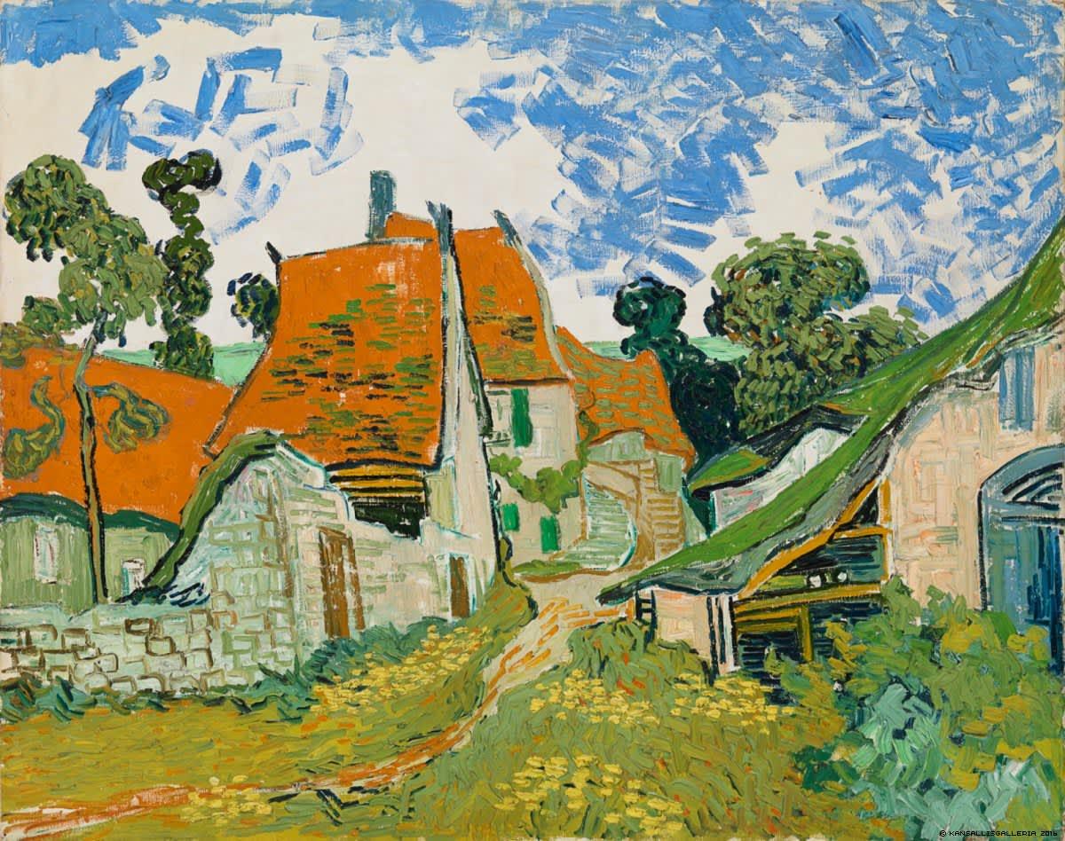 Vincent van Goghin teos Katu, Auvers-sur-Oise.