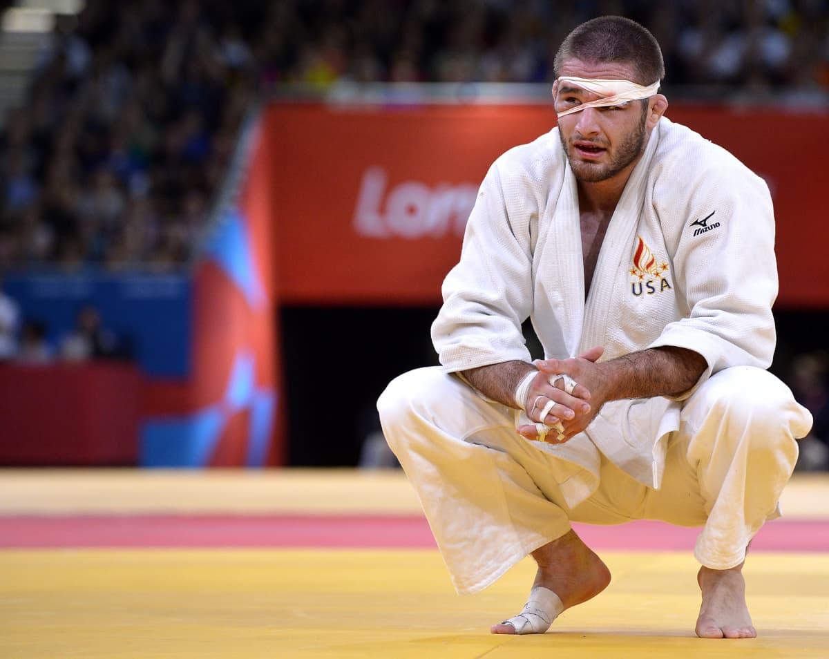 Travis Stevens Lontoon olympiatatamilla 2012
