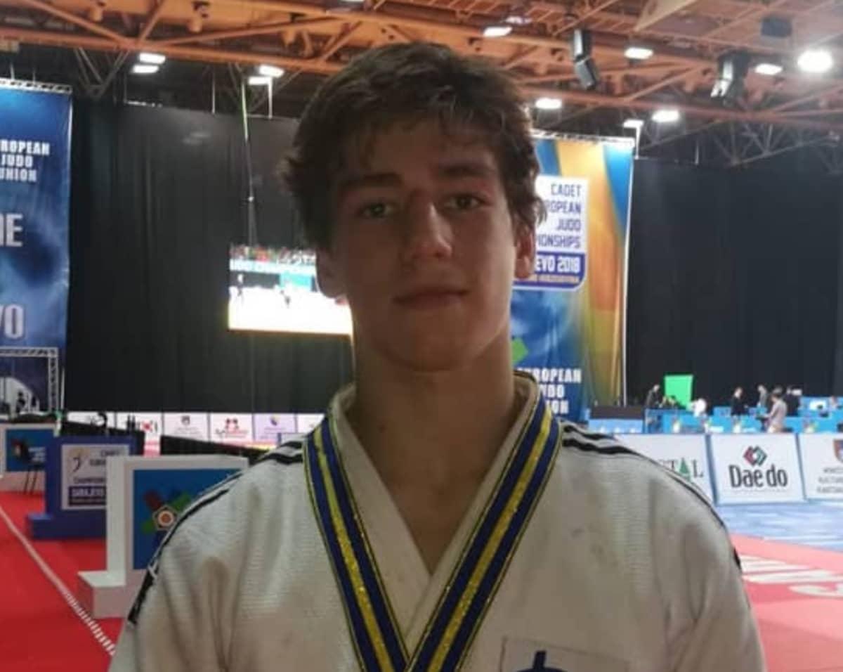 Kuvassa judoka Turpal Djoukaev