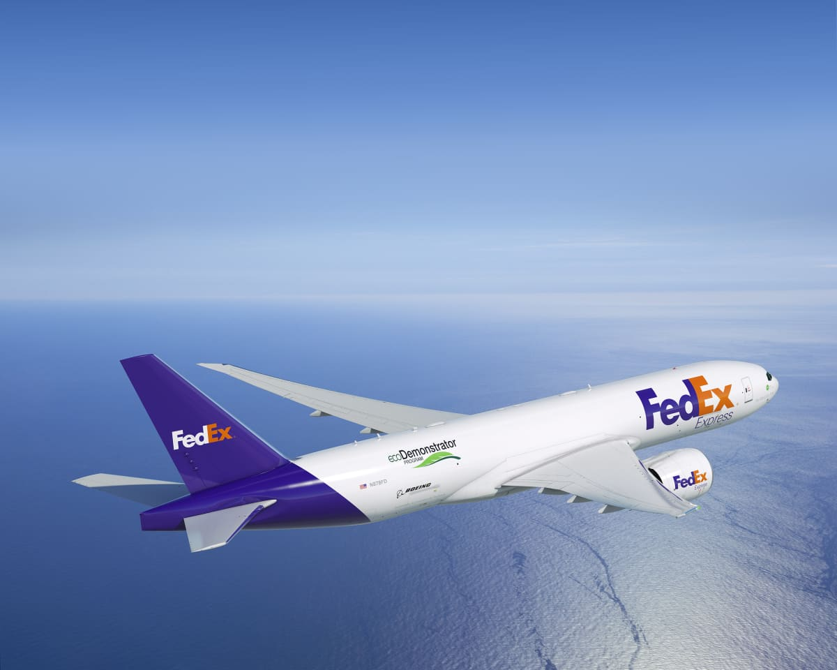 Boeing, FedEx Express to Collaborate on ecoDemonstrator Testing