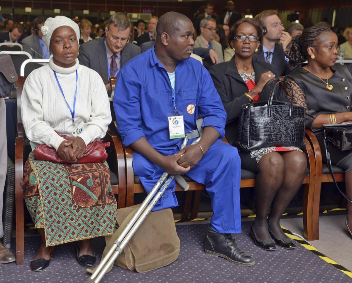 Maamiinan uhri Samuel Machava.