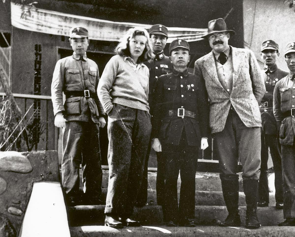 Sotakirjeenvaihtaja, reportteri Martha Gellhorn