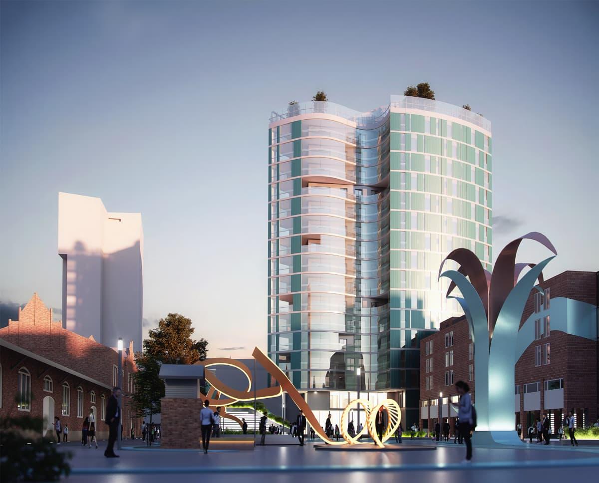 Tullikamarin aukio suunnittelukilpailutyö Agora