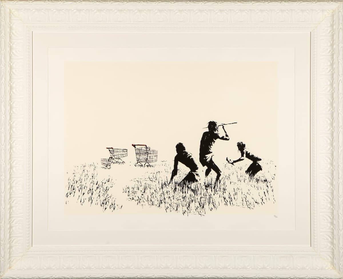 Banksyn teos Trolley Hunters.