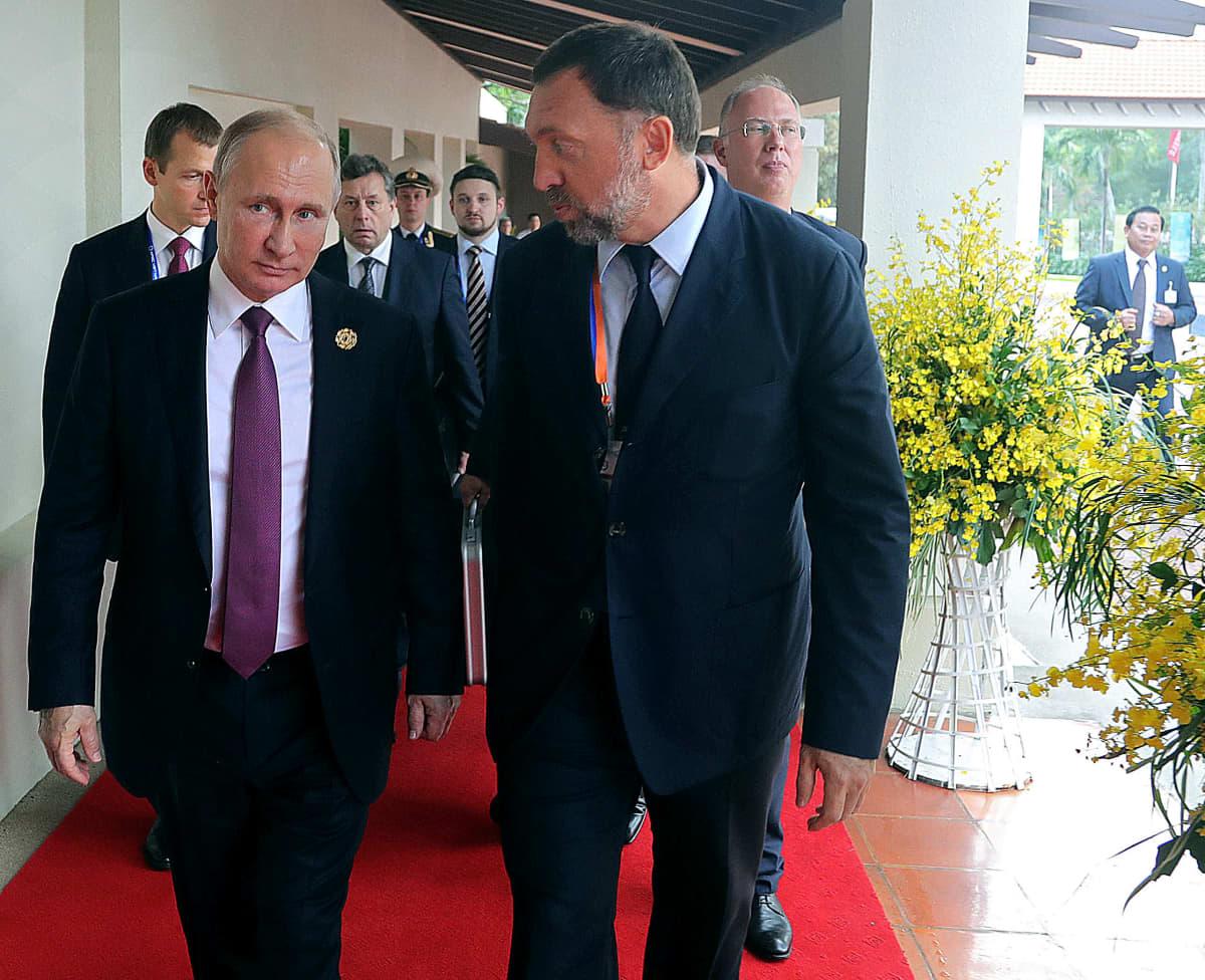 Vladimir Putin ja Oleg Deripaska