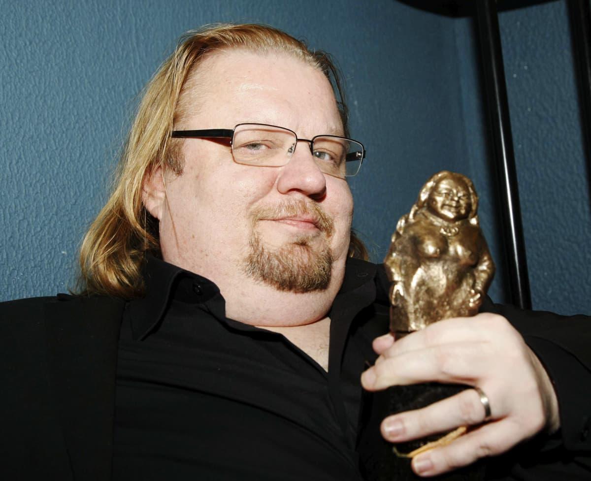 Kuvassa on Jope Ruonansuu vuonna 2010.