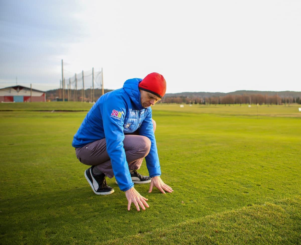 Toimitusjohtaja Tomi Paju, Salon Golf