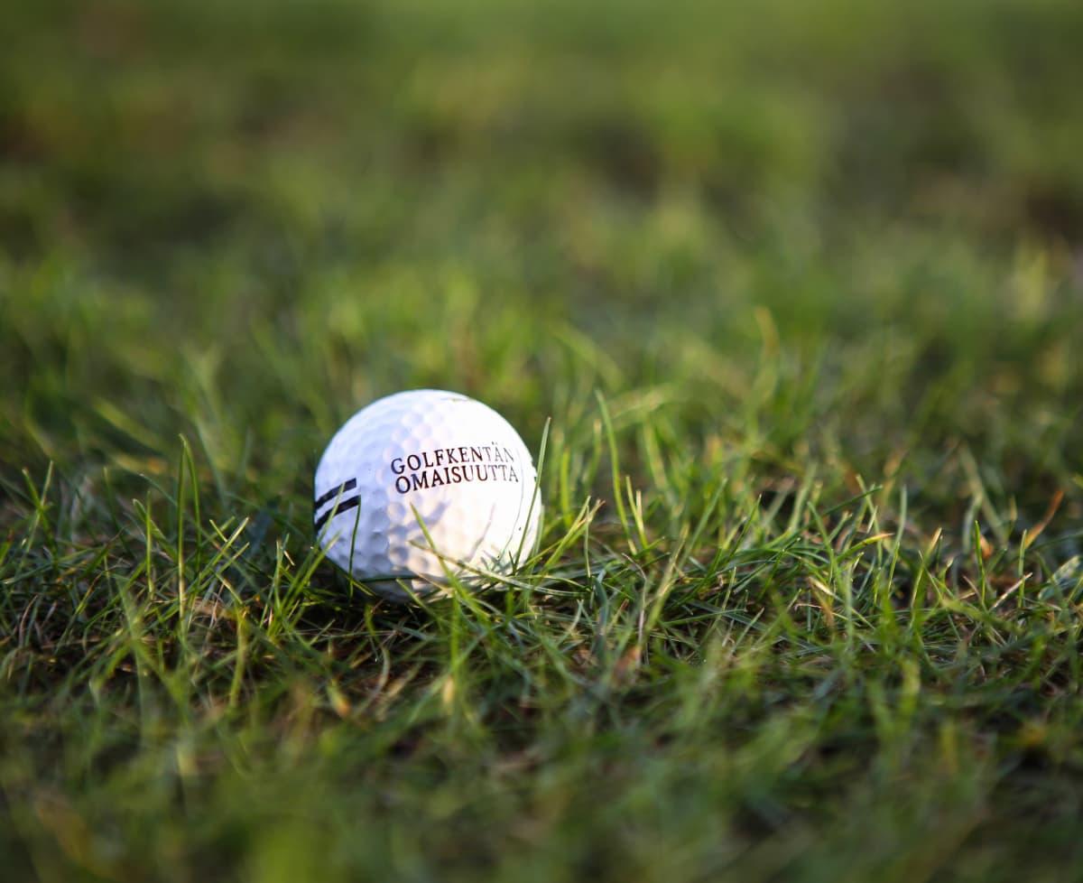 Golfpallo Salon golfkentällä tammikuussa 2020.