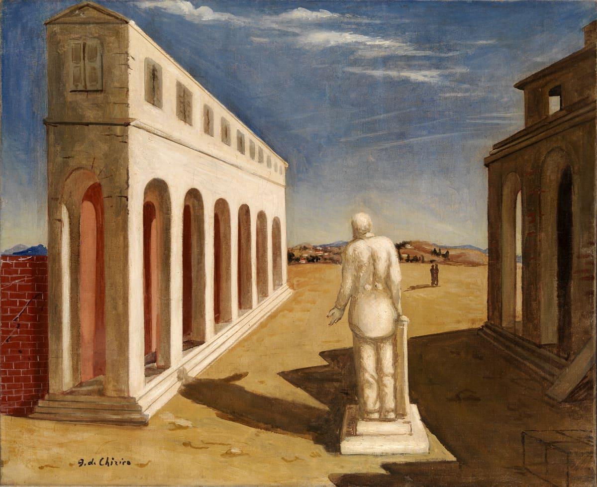 Giorgio de Chirico: Piazza d'Italia