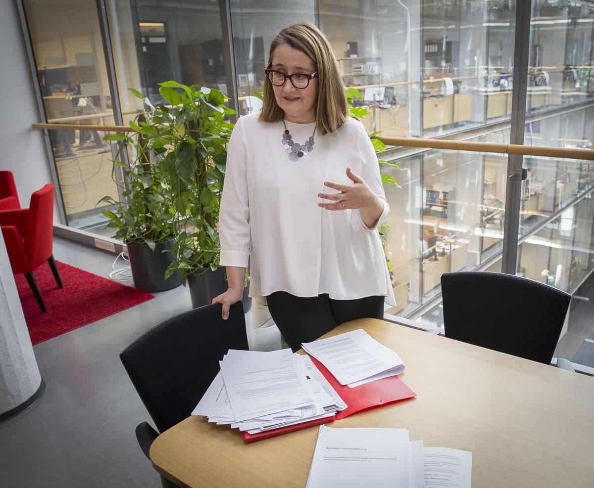 Käräjäoikeuden tuomari Minna Hällström