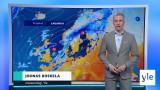 Video: Sääennuste klo 18.00