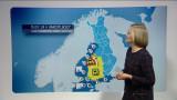 Video: Sääennuste klo 1800