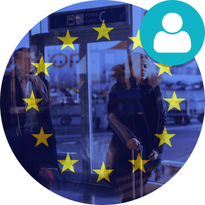 Symbolikuva EU-lipusta.