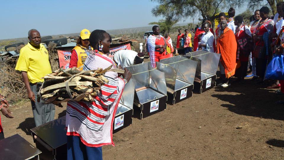 Koukku naisten Keniassa