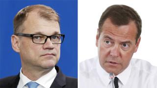Видео: Suomen ja Venäjän pääministerien tiedotustilaisuus