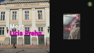 Video: Getting around Pori with Licia Prehn, who is blind