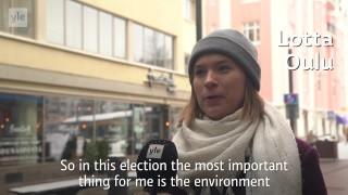 Video: Voters in Oulu speak out