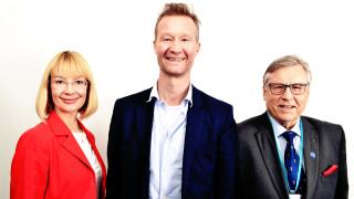 Audio: Hallitusväännöstä Väyrysen kautta EU-huippariin