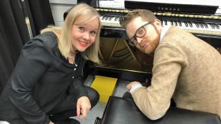 Audio: Vieraana pianisti Väinö Jalkanen