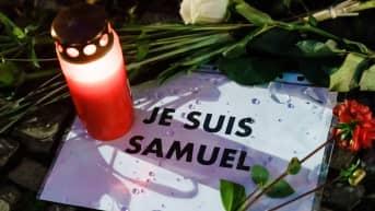 Ranskassa marssitaan perjantaina tapetun opettajan muistoksi