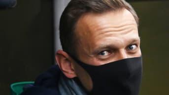 Venäläinen oppositiojohtaja Aleksei Navalnyi otettiin kiinni Venäjällä.