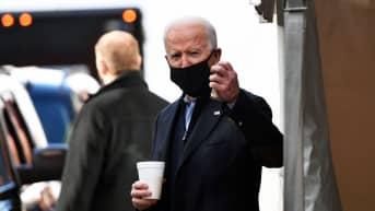 Joe Biden jättää hyvästit Delawarelle