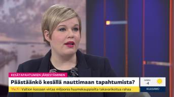 Miten kesätapahtumat voidaan järjestää, ministeri Saarikko?