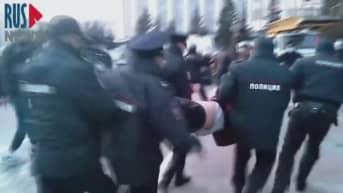 Venäjällä protesteissa otettu kiinni satoja