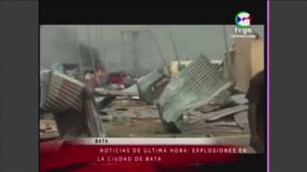 Päiväntasaajan Guineassa räjähdysten sarja