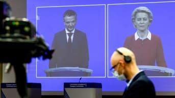 Euroopan komission puheenjohtaja Ursula von der Leyen kertoi 28. lokakuuta toimista, joilla pyritään rajoittamaan koronaviruksen leviämistä, säästämään ihmishenkiä ja vahvistamaan EU-maiden sisämarkkinoita.