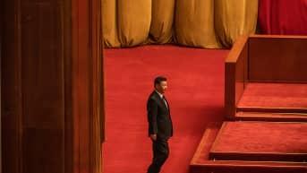 Xi Jinping Kiinan kansankongressissa.