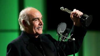 Sean Connery mottar europeiskt filmpris
