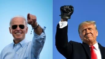 Joe Biden ja Donald Trump.