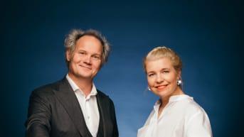 Toimittajat Anna Tulusto ja Jani Halme