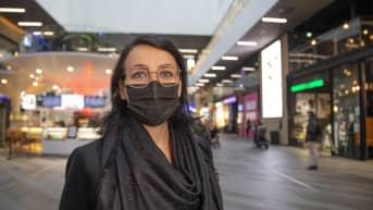 Kati Kivimäki on kauppakeskus Triplan johtaja.