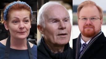 Kolme eteläsavolaista ihmistä, joiden maakunta vaihtuu uudenvuoden jälkeen.