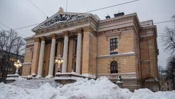 Säätytalo. Helsinki. 13.1.2021.