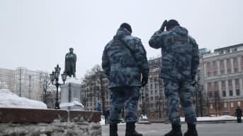 Moskovassa mielenosoitus Aleksei Navalnyin tueksi