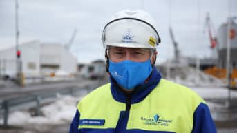 Rauman telakkayhtiö RMC:n toimitusjohtaja Jyrki Heinimaa.