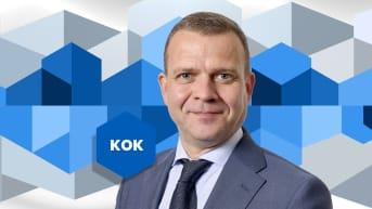 Puheenjohtajatentti: Petteri Orpo