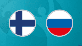 Jalkapallon EURO 2020: Suomi - Venäjä