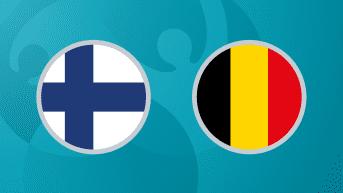 Jalkapallon EURO 2020: Suomi - Belgia