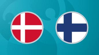 Jalkapallon EURO 2020: Tanska - Suomi