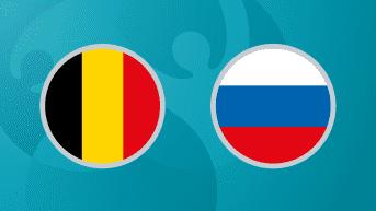 Jalkapallon EURO 2020: Belgia - Venäjä
