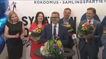 Kokoomuksen Petteri Orpon voittopuhe