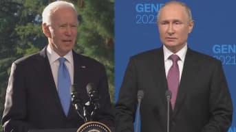 Putin ja Biden kommentoivat Navalnyin kohtaloa