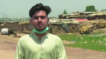 Afganistanilainen Muhammad Irshad kertoo Ylelle, mistä hän hän unelmoi