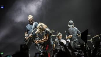 Metallica, Hartwall Arena, James Hetfield, Kirk Hammett, Rob Trujillo, Lars Ulrich