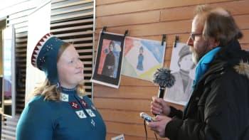 saamelaisten kansallispäivä, saamelaiset, tiina sanila-aikio, erkki gauriloff, yle